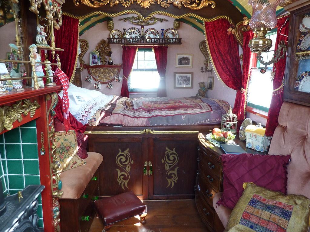 restored gypsy caravan beth flickr