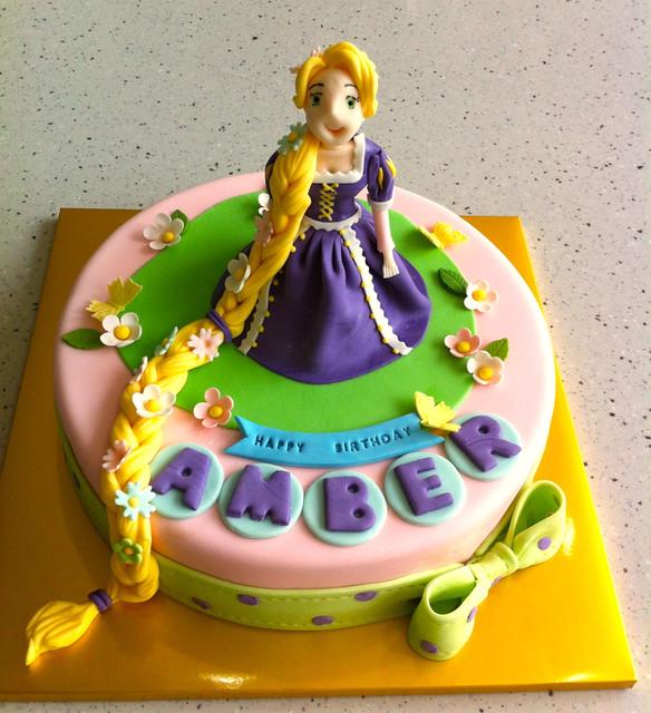 Rapunzel Cake Flickr Photo Sharing