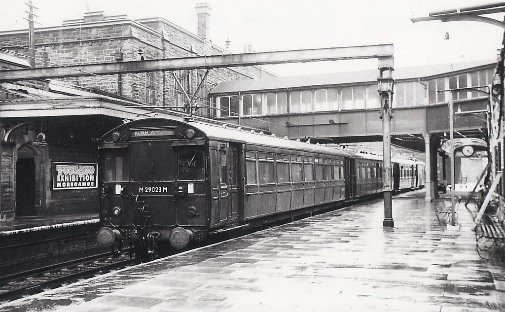 Lancaster Castle Station 1966 I Have Always Been