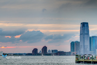 Sunset view from Battery Park | by AAA Studio