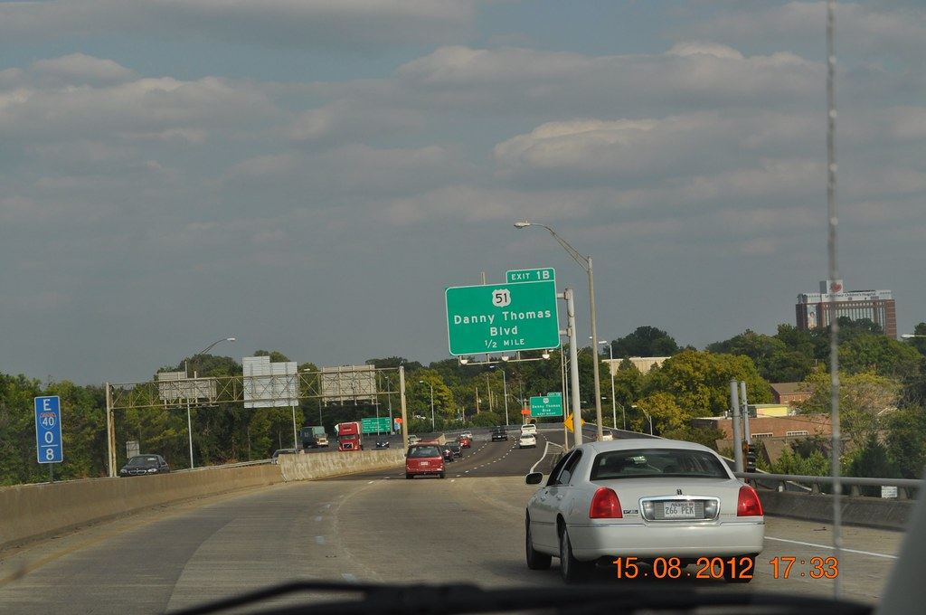 Danny Thomas Blvd 1 2 Mile Exit 18 Memphis Tennessee Flickr
