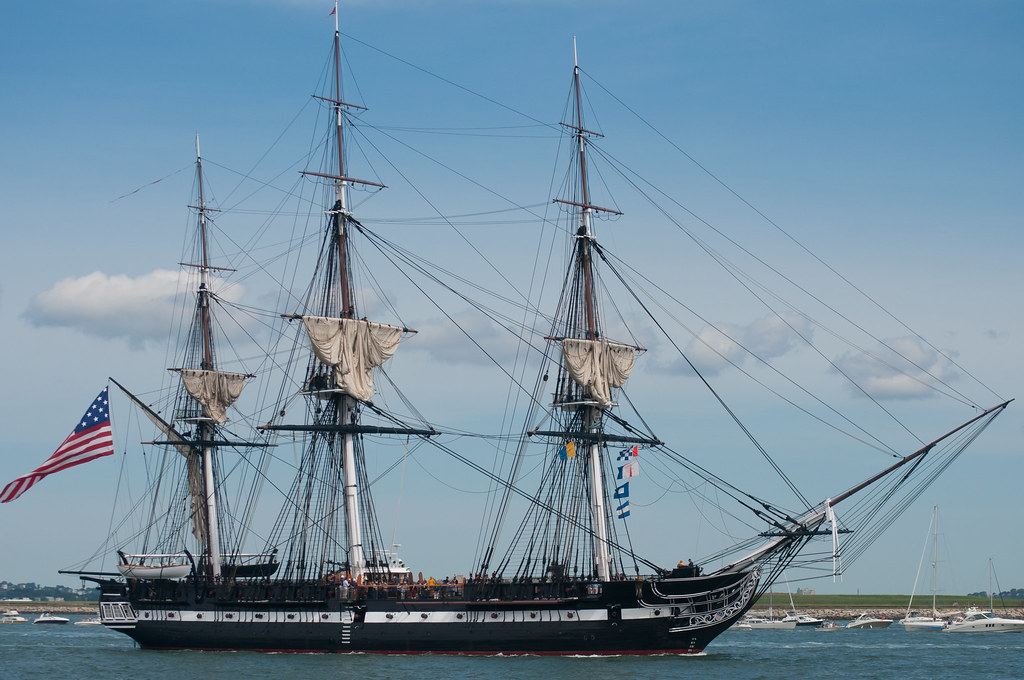 Uss Constitution Sails Again The U S Navy 39 S Oldest