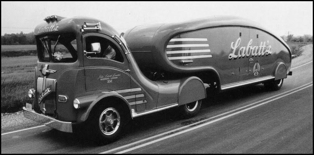 1947 White Labatt S Streamliner Designed By Count Alexis