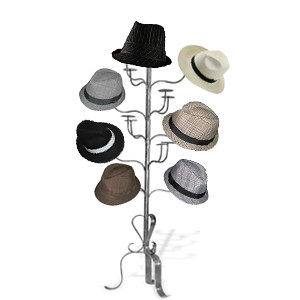 how to make a hat rack stand