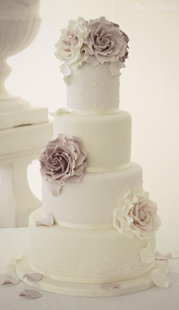 Small Blue Wedding Cakes