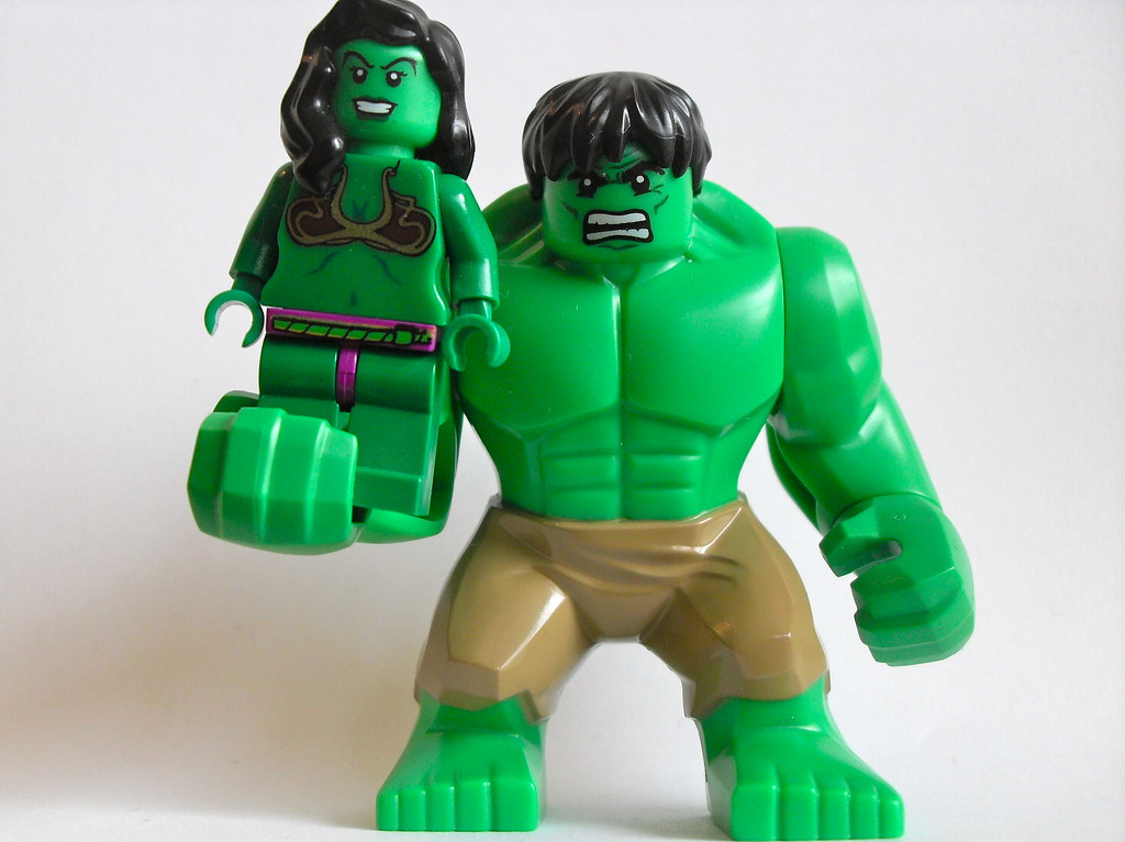 Image Gallery lego she hulk