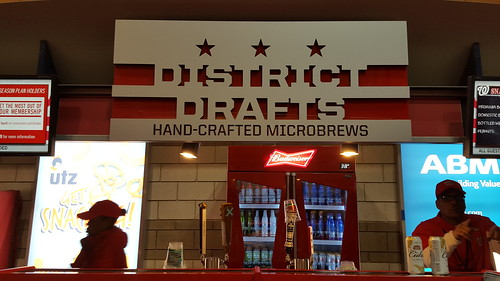 District Drafts local/regional beer stand