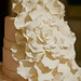 Custom Floral Wedding Cake