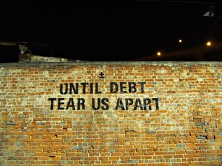 Debt, will tear us apart... | by Beatriye
