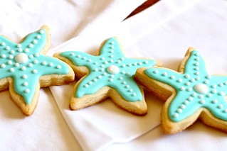 starfish sugar cookies 1 | by Hungry Housewife