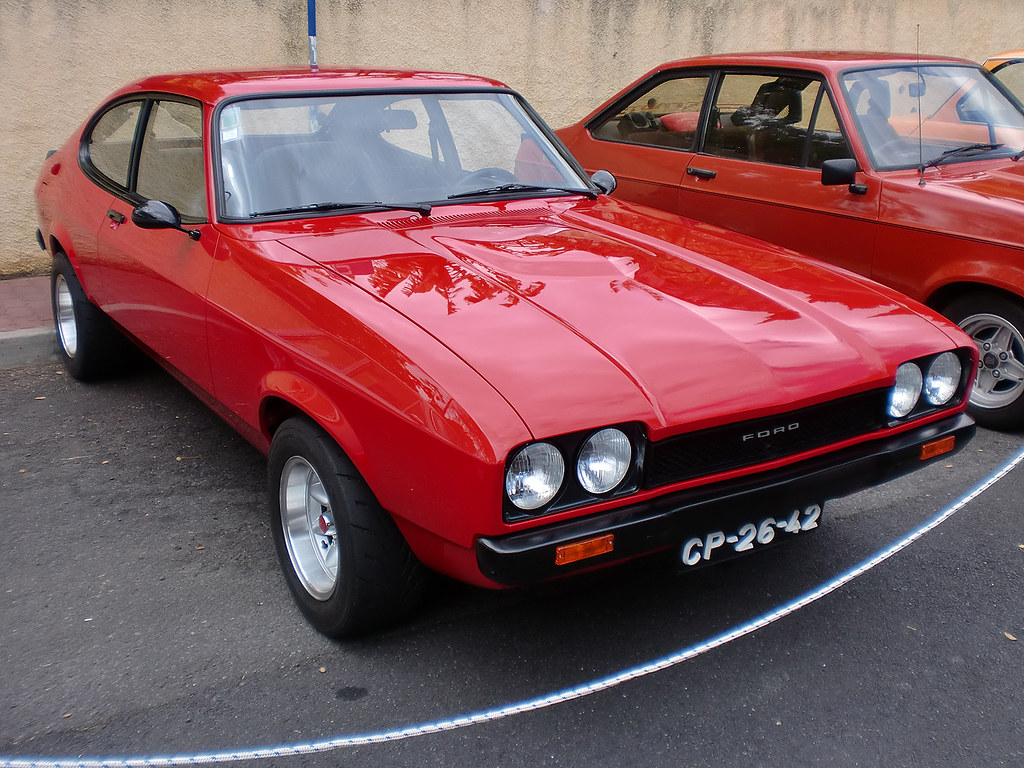 ford capri mk2 seen during madeira reid 39 s classic car. Black Bedroom Furniture Sets. Home Design Ideas