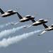 RIAT 2012 Black Eagles T-50 Golden Eagle