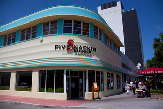 Five Napkin Burger on Lincoln Road - Miami Beach, FL | by ChrisGoldNY
