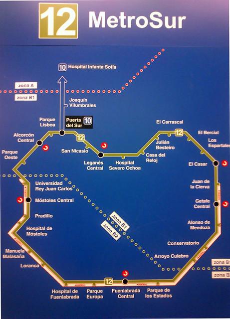 Plano de MetroSur | Flickr - Photo Sharing!