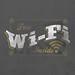 free WIFI vintage