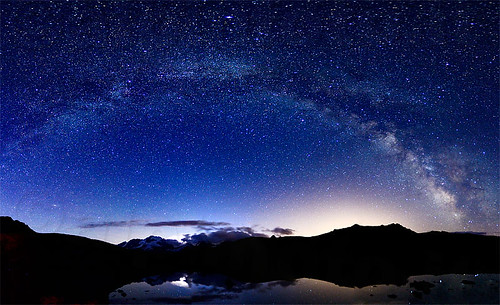 Milky way from Gran Paradiso NP | by alpinfoto