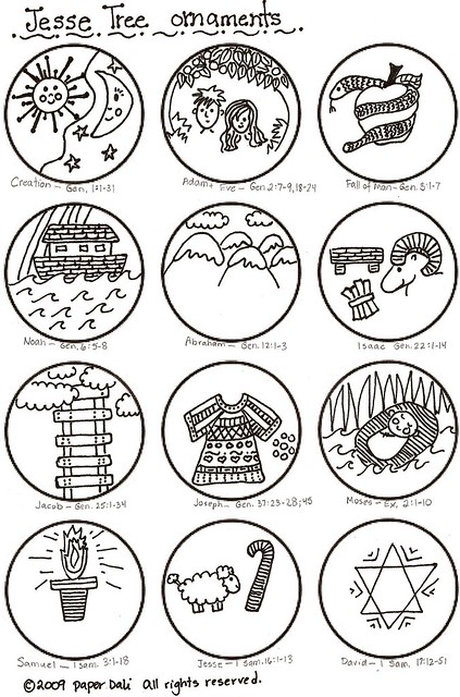 jesse tree ornament templates - jesse tree ornaments 1 of 2 flickr photo sharing