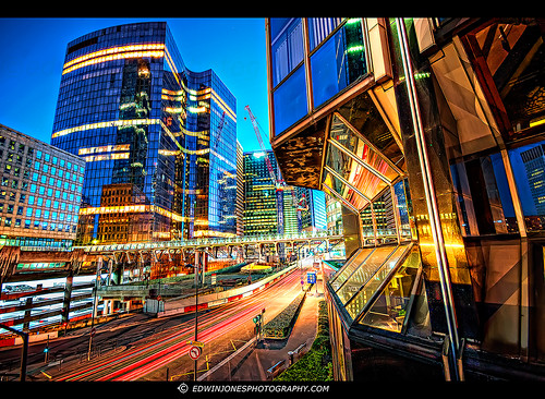 La Defense Blade Runner Cityscape [Explored #433] | by Edwinjones