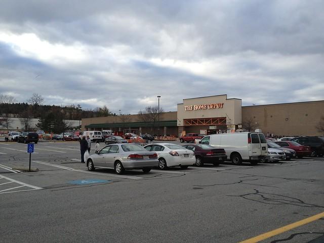 Home Depot Parking Lots : Nashua nh home depot parking lot flickr photo sharing