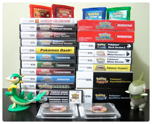Nintendo Ds Pokemon Games : Pokemon games for nintendo ds and gameboy advance flickr