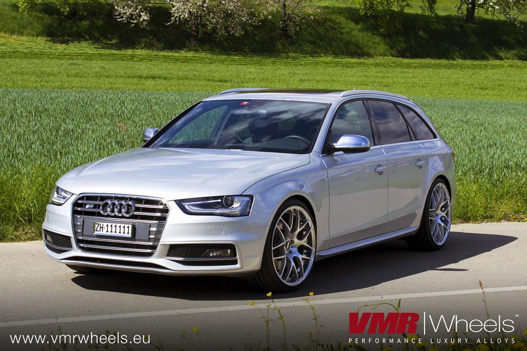 Vmr Wheels V710 Hyper Silver Audi S4 Avant Vmr Wheels
