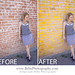 Photoshop Before and After -- Change Wall Color Blog Post