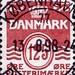 Denmark 125 ore Stamp