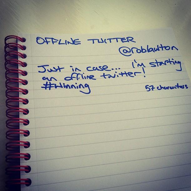 Offline Twitter