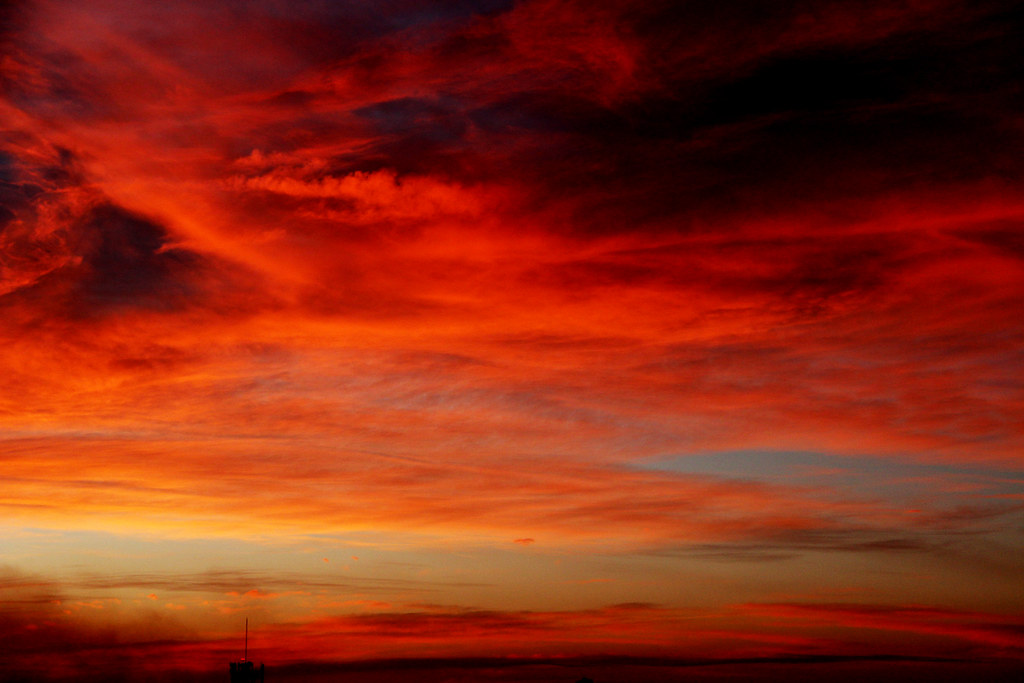 red steppe clouds - photo #10