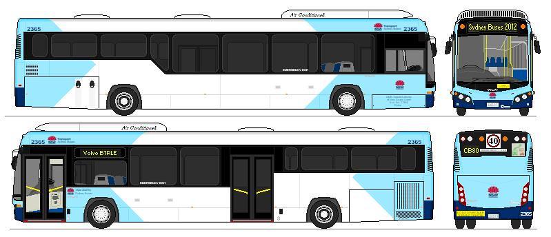 Volvo B7rle Euro V Custom Coaches Cb80 State Transit
