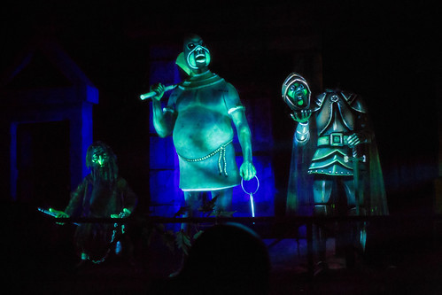 The Haunted Mansion - The Prisoner, Executioner, & Knight | by Todd Hurley Photography