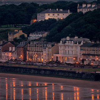 Filey at dusk | by Tony McLean