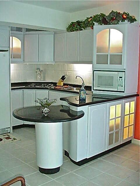 T remodela dise o de cocinas cocina comedor pantry m s i for Cocinas modernas para apartamentos