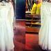 shopping for wedding dresses!