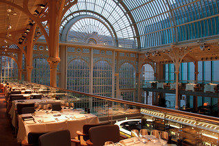 Paul Hamlyn Hall Balconies Restaurant © ROH 2012 | by Royal Opera House Covent Garden