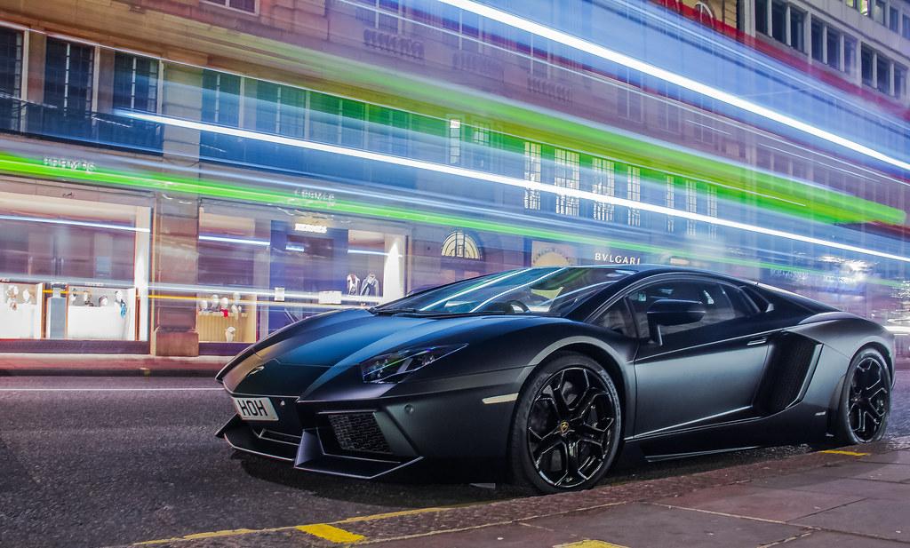 Matte Sports Car