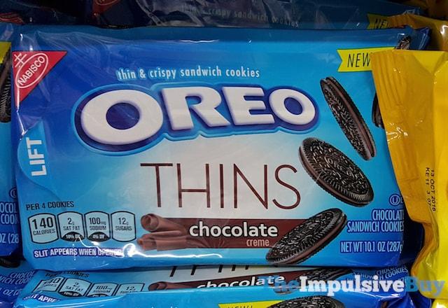Chocolate Oreo Thins Causing Dark Poop