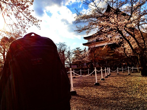 A little @TomBihn #synapse love during the Sakura season! Inuyama Castle makes a nice background. :) | by G e o cycle