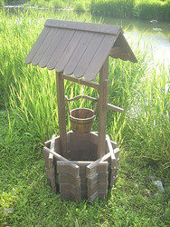 Old Fashioned Wishing Well Planters Garden Wishing Wells