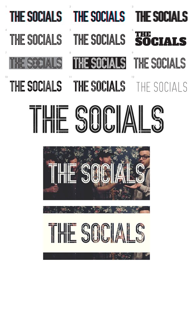 The Socials Band Logo : Design proposals for Canadian indie ...