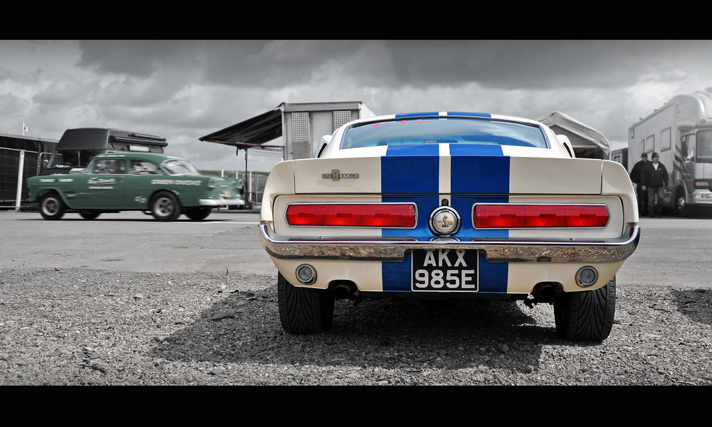 New Mustang Shelby Racing Car