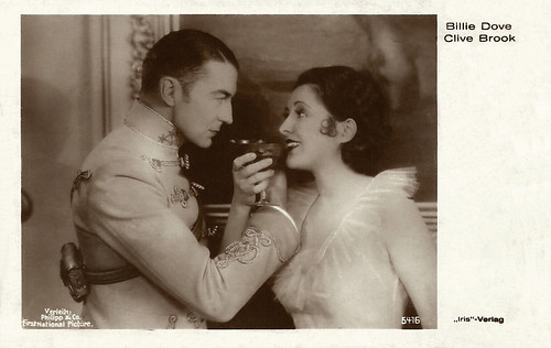 Clive Brook and Billie Dove | by Truus, Bob & Jan too!