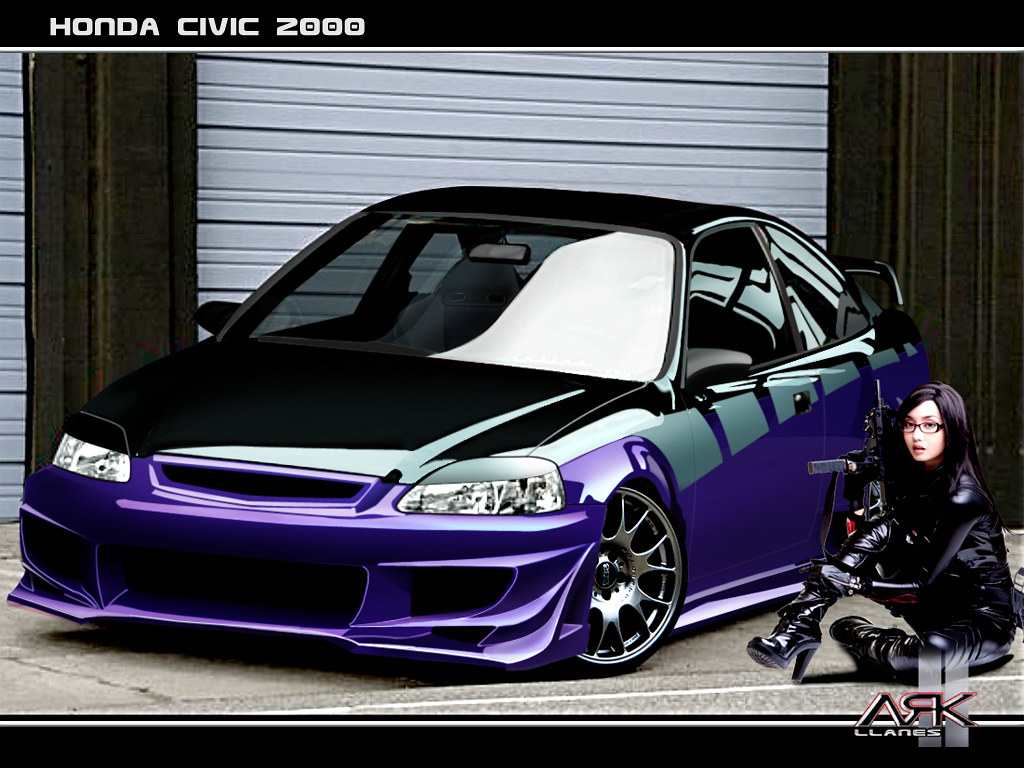 62 wallpaper honda civic coupe 2000 tuning by ark llanes. Black Bedroom Furniture Sets. Home Design Ideas