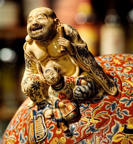 HOTEi, one of the Seven Lucky Gods of Japan... | by williamcho