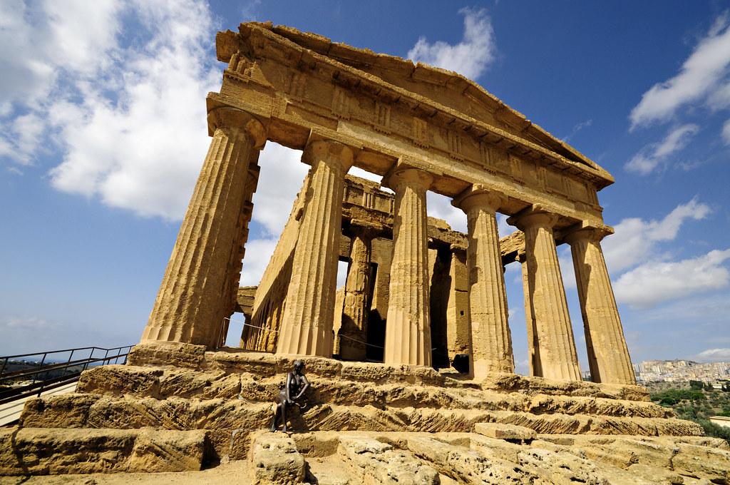 the ancient greek temple of concordia valle dei templi flickr. Black Bedroom Furniture Sets. Home Design Ideas