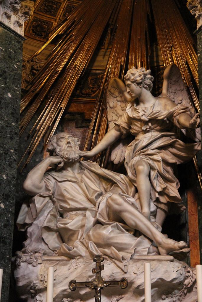 Il sogno di san giuseppe chiesa di santa maria della vit for Di giuseppe arredamenti roma