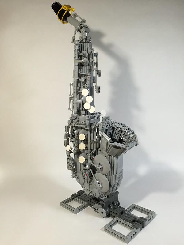 LEGO strumenti musicali: Saxophone