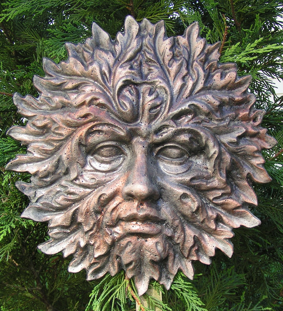 Hawthorn Greenman Highly Detailed Greenman Garden Face
