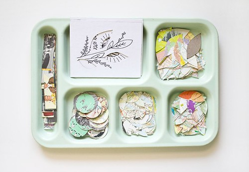 the collage lunch tray | by Meg Gleason