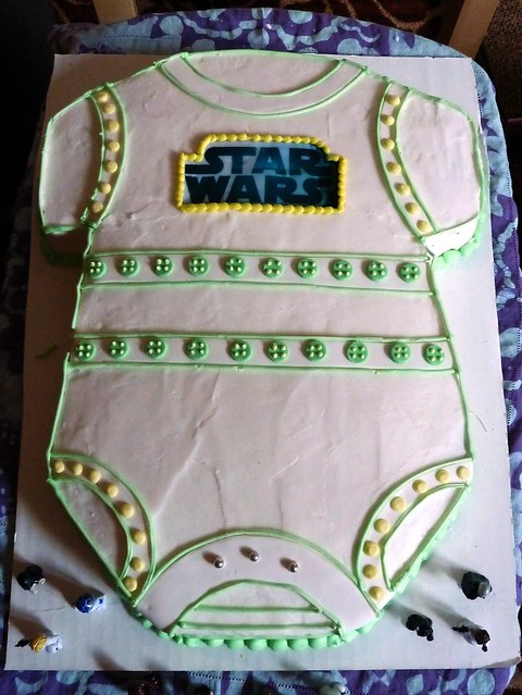 star wars baby shower cake flickr photo sharing